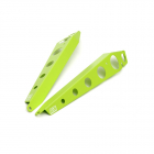 GrimmSpeed Fender Shroud Kit Neon Green 2015-2021 WRX / STI